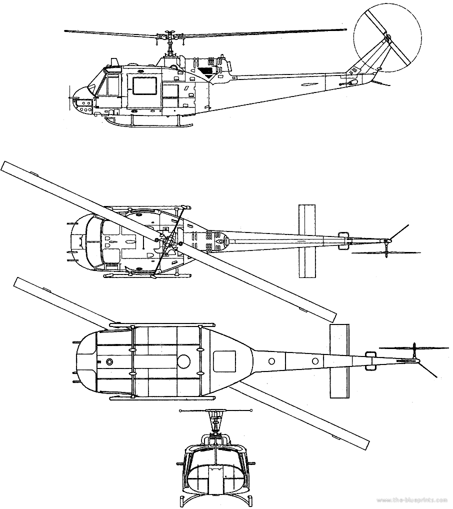 Bell 204 b2 uh 1 iroquois huey helicopter website manufacturer malvernweather Gallery