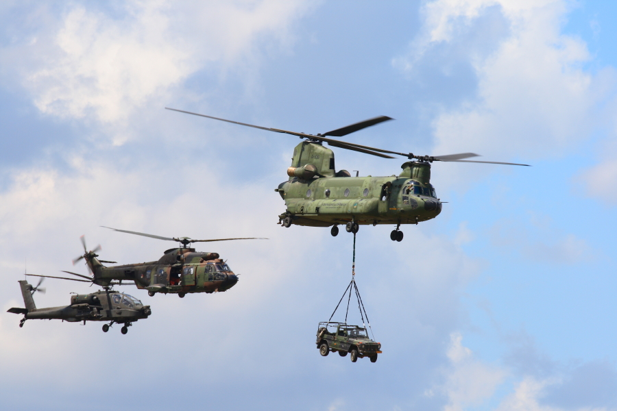 Chinook, Cougar and Apache