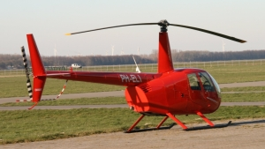 Helicopter with long shaft