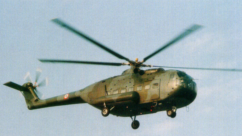 Agusta A101G helicopter