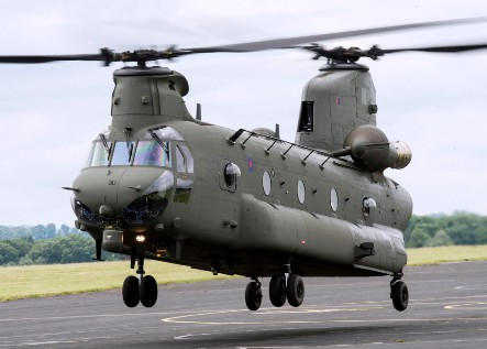 CH 47  Chinook  Model234 on 6 rotor helicopter
